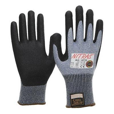 Schnittschutz-Handschuhe mit Nitrilsch..